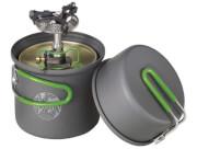 Praktyczny zestaw naczynia Terra Solo Cookset + palnik Crux Lite Optimus