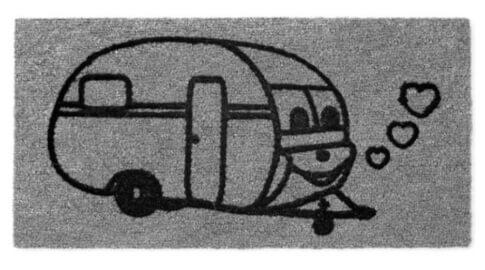 Wycieraczka kempingowa Caravan
