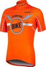 Koszulka rowerowa BCM Nowatex Bike orange California