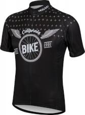 Koszulka rowerowa BCM Nowatex Bike black California