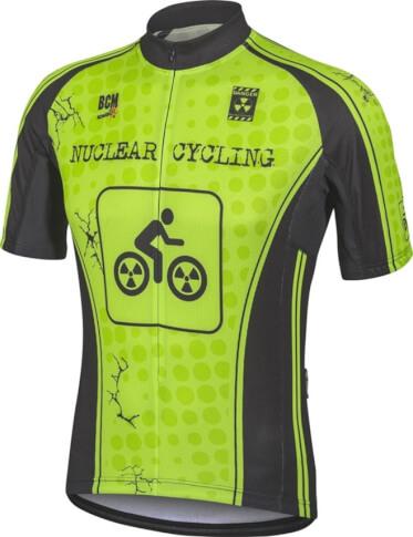 Koszulka rowerowa BCM Nowatex Nuclear Cycling FLUO
