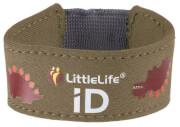 Neoprenowa opaska informacyjna ID dla dziecka LittleLife Dinozaur