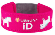Neoprenowa opaska informacyjna ID dla dziecka LittleLife Jednorożec