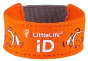 Neoprenowa opaska informacyjna ID dla dziecka LittleLife Rybka Nemo