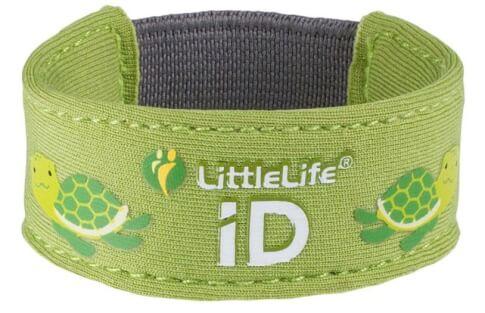 Neoprenowa opaska informacyjna ID dla dziecka LittleLife Żółw