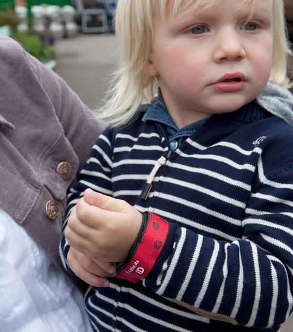 opaska informacyjna na rękę dziecka biedronka litllelife