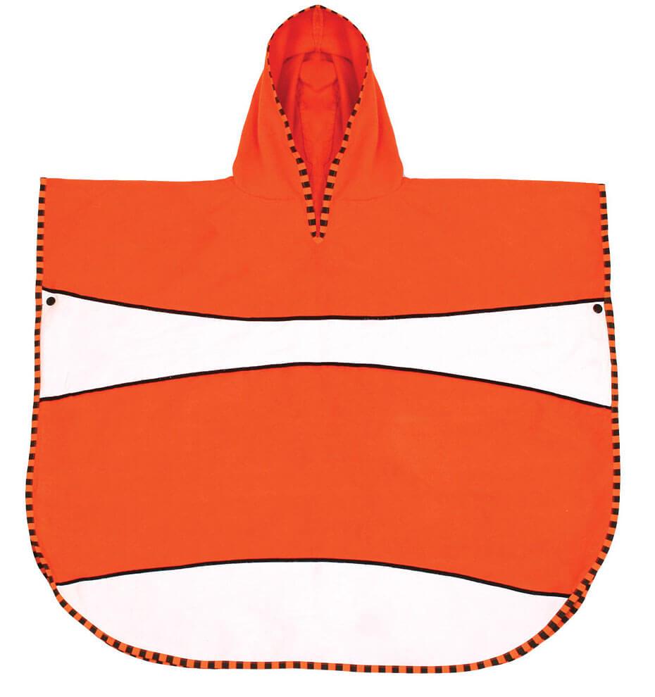 super lekkie poncho ręcznikowe dla dziecka z filterem upf gdzie jest nemo