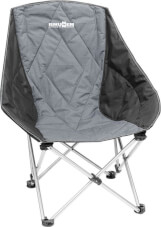 Krzesło kempingowe Brunner Action Shell szare