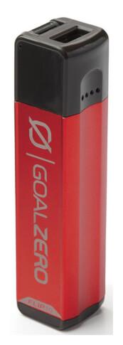 Lekki i poręczny Power Bank z USB 2600 mAh FLIP 10 Goal Zero czerwony