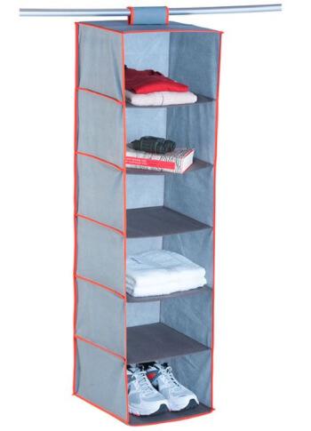 Składana szafka wisząca z półkami i szufladami