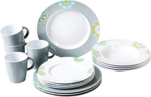 Turystyczny zestaw obiadowy Brunner Dinner Service Sandhya