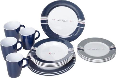 Turystyczny zestaw obiadowy Brunner Dinner Service Marine