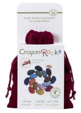 Naturalne kredki Crayon Rocks w aksamitnym woreczku 16 kolorów