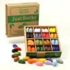 Naturalne kredki Crayon Rocks w pudełku 64 sztuki 16 kolorów