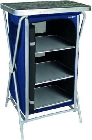 Rozkładana szafka turystyczna Mercury Cross LS Brunner Niebieska