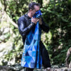 Duży ręcznik SoftFibre Advance Trek Towel Giant Blue Triangles Lifeventure