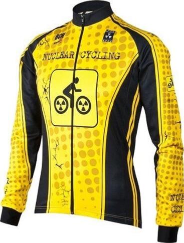 Bluza rowerowa BCM Nowatex Nuclear Cycling Yellow