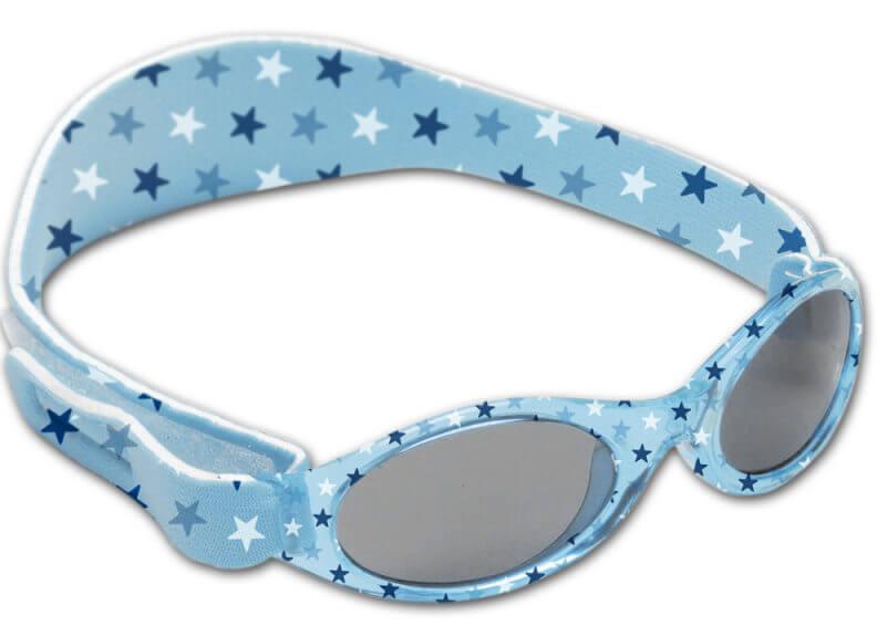 okulary z filtrem uv dla małego dziecka z opaską na głowę dooky