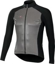 Ciepła bluza kolarska SuperRoubaix z wiatroodpornym przodem Gamex Vezuvio czarna