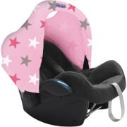 Osłonka do fotelików i wózków dziecięcych Hoody Pink Stars Dooky