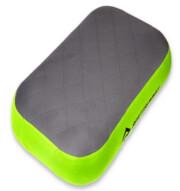 Duża poduszka dmuchana Aeros Premium Deluxe zielono szara Sea to Summit