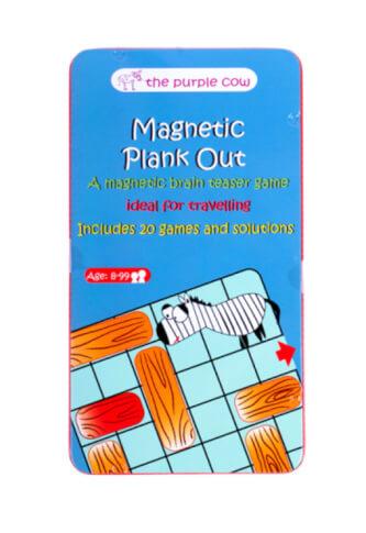 Podróżna gra magnetyczna Przesuń deskę The Purple Cow