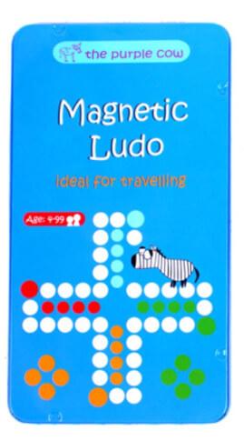 Podróżna gra magnetyczna Chińczyk/Ludo The Purple Cow