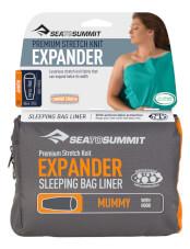 Prześcieradło wkładka do śpiwora Expander Liner Mummy with hood Sea to Summit