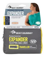 Prześcieradło wkładka do śpiwora Expander Liner Traveller with Pillow Sea to Summit