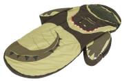 Łóżeczko turystyczne ze śpiworem zielony krokodyl LittleLife