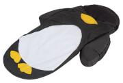 Łóżeczko turystyczne ze śpiworem czarny pingwinek LittleLife