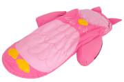 Łóżeczko turystyczne ze śpiworem różowa sowa LittleLife