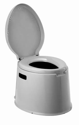 Praktyczna przenośna toaleta turystyczna Optitoil L Brunner