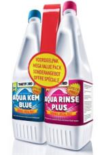 Zestaw płynów Duo Pack Aqua Kem Blue 1,5 l + Aqua Rinse Plus 1.5 l Thetford
