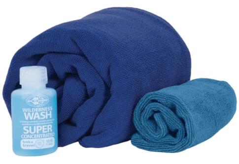 Zestaw kosmetyczny Tek Towel Wash Kit Medium Sea To Summit
