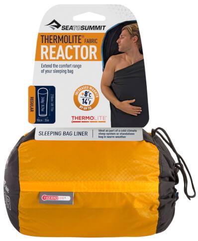 Ciepła wkładka do śpiwora Thermolite Reactor Regular Sea to Summit