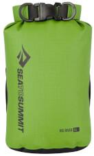 Wodoszczelny worek Big River Dry Bag zielony 5l Sea To Summit