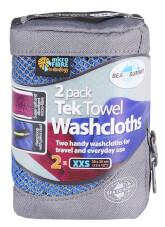Komplet ręczników szybkoschnących 2x Tek Towel 2 Wash Cloths Sea To Summit