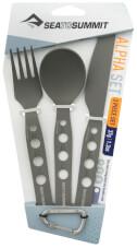 Zestaw sztućców turystycznych AlphaSet 3pc Cutlery Set Sea To Summit