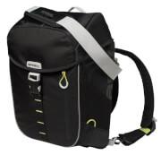 Wodoszczelny plecak rowerowy Daypack Miles Basil Black Lime