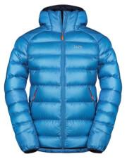 Puchowa kurtka zimowa męska Zajo Moritz Jkt niebieska