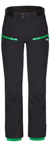 Spodnie w góry Nassfeld Pants czarne Zajo