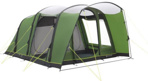 Namiot rodzinny 5-osobowy Flagstaff 5A Air Comfort Polyester Outwell