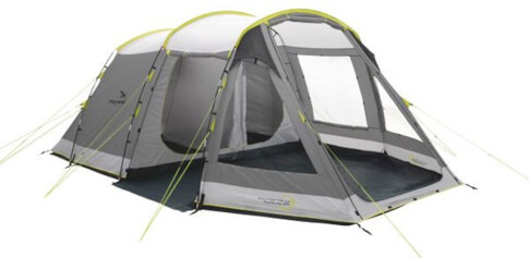 Namiot rodzinny dla 5 osób Huntsville 500 szary Easy Camp