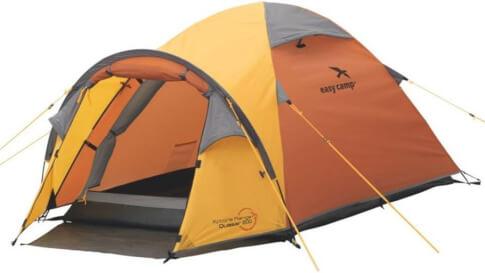 Namiot turystyczny dla 2 osób Quasar 200 pomarańczowy Easy Camp
