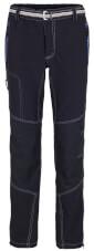 Lekkie spodnie trekkingowe i wspinaczkowe ATERO Milo black / dark grey