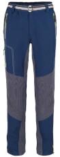 Lekkie spodnie trekkingowe i wspinaczkowe ATERO Milo blue nights / dark grey