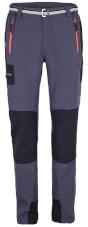 Funkcjonalne spodnie górskie GABRO Milo grey / black