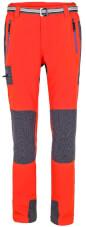Funkcyjne spodnie trekkingowe w góry GABRO Milo orange