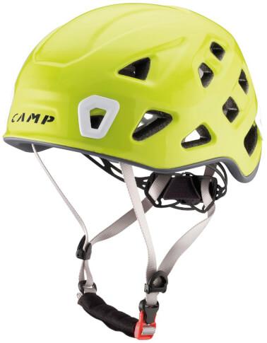 Kask wspinaczkowy CAMP Storm typ EPS - żółty rozmiar L